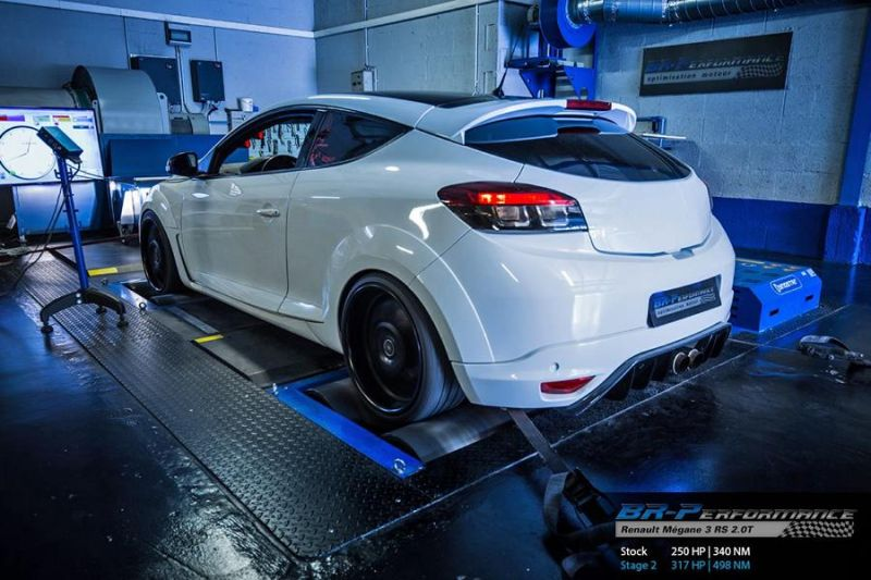 Chiptuning Renault Mégane 3 RS 2.0T BR Perfromance 2