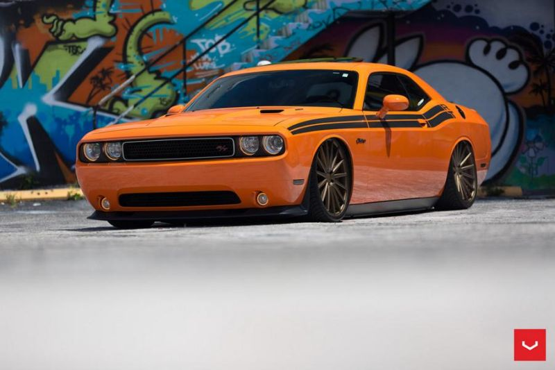 Dodge-Challenger-On-Vossen-VFS2-By-Vossen-Wheels-2