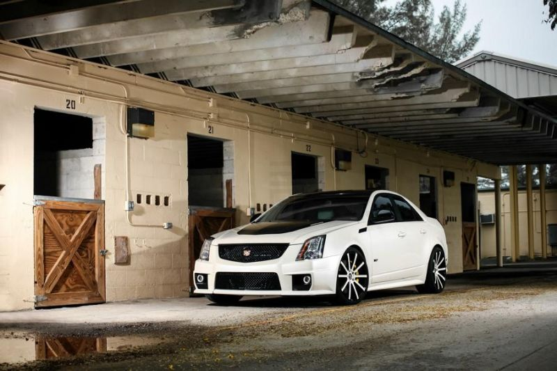 Exclusive Motoring Cadillac CTS V By XO Luxury Wheels 1 Cadillac CTS V mit 20 Zoll XO Luxury Wheels by Exclusive Motoring