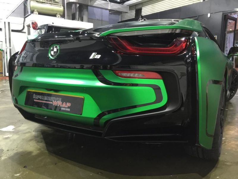 Green-Chrome-BMW-i8-tuning-7