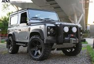 Land Rover Defender On ADV6 Truck Spec By ADV.1 Wheels 2 190x129 Radikaler Land Rover Defender auf 20 Zoll ADV6 Truck Spec Felgen
