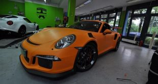 Matte Orange Porsche 991 GT3 RS tuning 7 310x165 Print Tech Folierung auf dem Porsche 991 GT3 RS