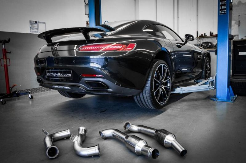 Mcchip-DKR Mercedes AMG GT-S 4.0 Turbo 609PS & 783NM Chiptuning 2