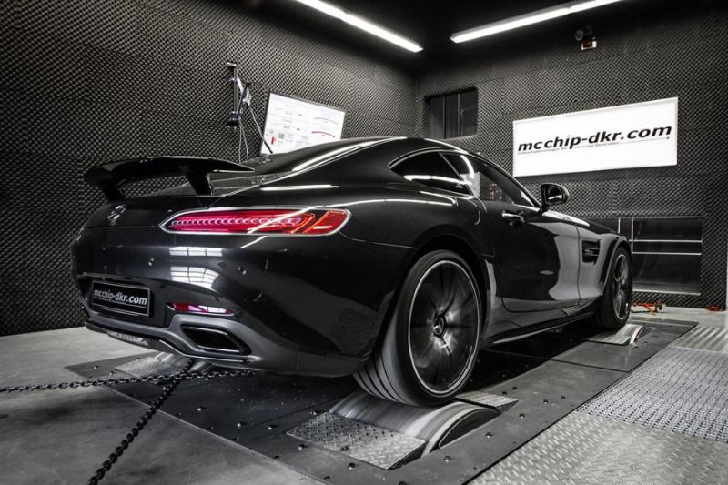 Mcchip-DKR Mercedes AMG GT-S 4.0 Turbo 609PS & 783NM Chiptuning 4