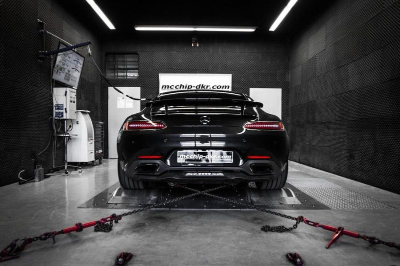 Mcchip-DKR Mercedes AMG GT-S 4.0 Turbo 609PS & 783NM Chiptuning 6