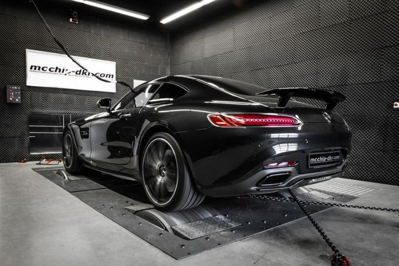 Mcchip-DKR Mercedes AMG GT-S 4.0 Turbo 609PS & 783NM Chiptuning 7
