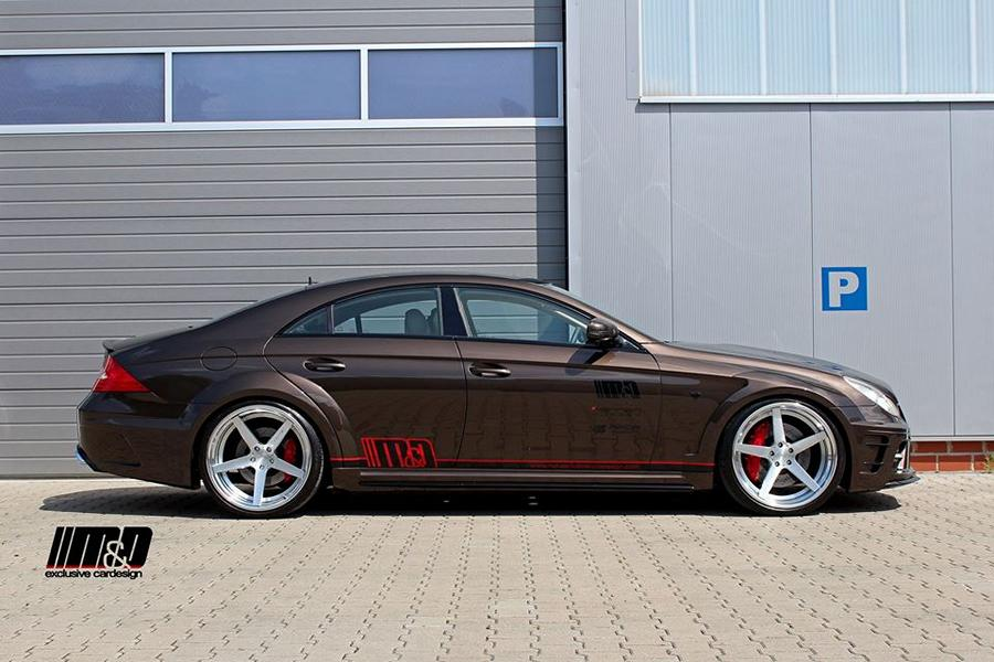 Mercedes CLS 55 AMG Prior Design Black Edition PD63 Widebody Tuning 2 M&D exclusive cardesign   Mercedes CLS AMG 55 PD63
