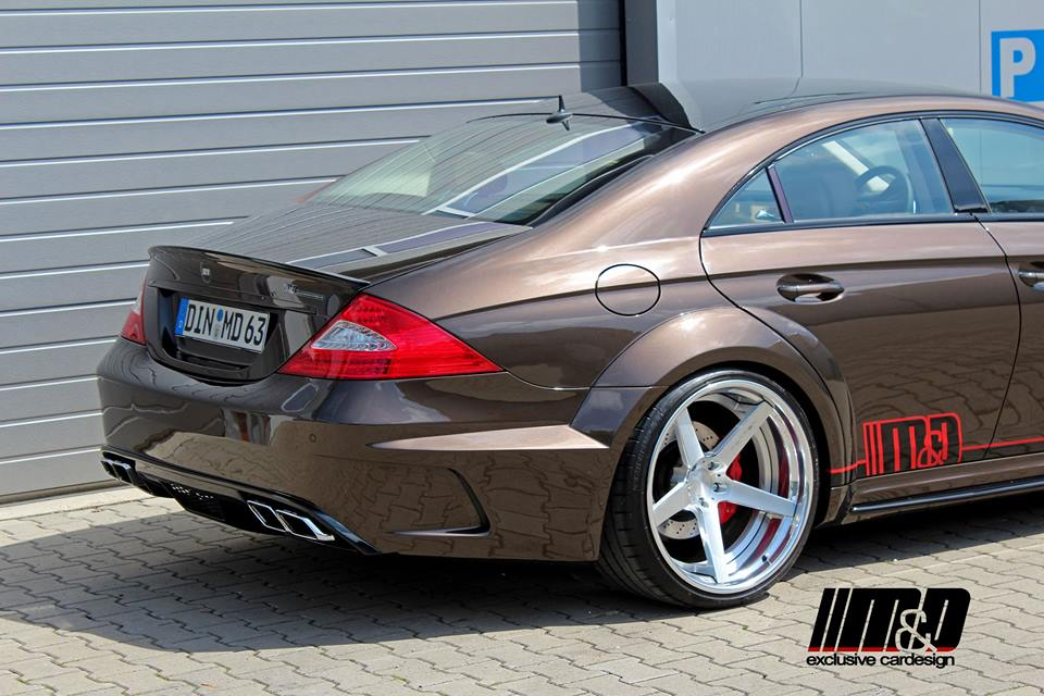 mercedes cls 55 amg prior design black edition pd63. Black Bedroom Furniture Sets. Home Design Ideas