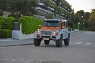 Mercedes G500 4%C3%974 spot tuning 1 190x126 Video: Promo Film zum Mercedes Benz G 500 4x4²