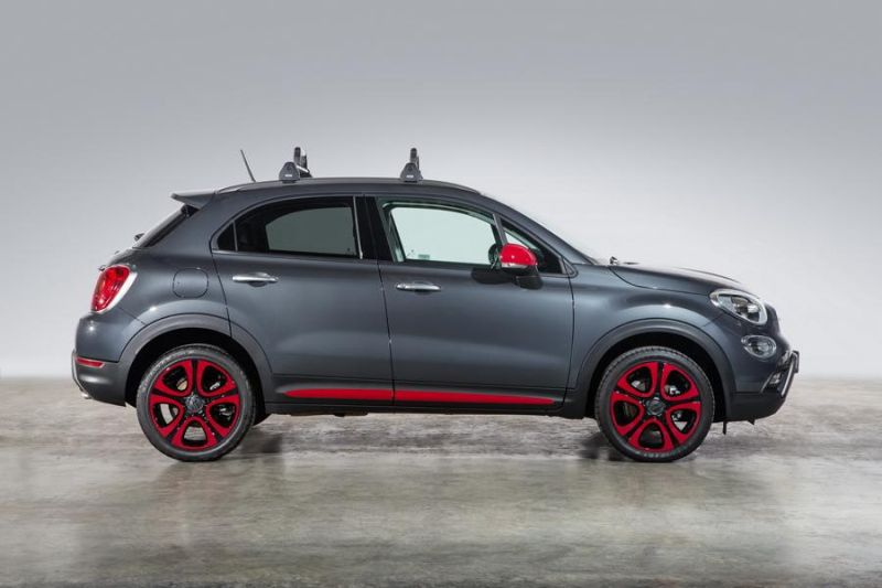 2016er fiat 500x crossover mit tuning parts von mopar. Black Bedroom Furniture Sets. Home Design Ideas