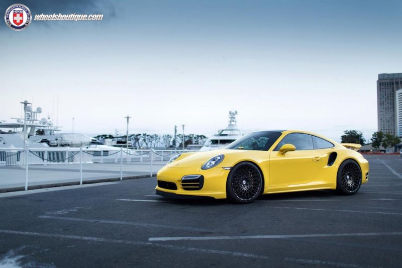 Porsche 991 Turbo S On HRE 501M By HRE Wheels tuning 1 Hammerhart   HRE 501M 21 Zoll Felgen auf dem Porsche 991 Turbo S