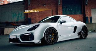 Porsche Cayman Wide Body rendering 1 310x165 Bengala Porsche Cayman mit Wide Body Kit (Rendering)