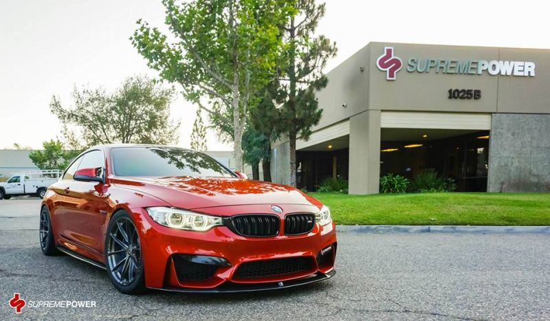 Sakhir Orange BMW M4 SP tuning 1 BMW M4 F82 in Sakhir Orange vom Tuner Supreme Power