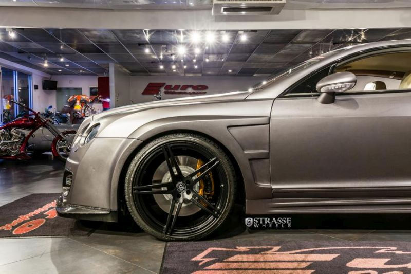 Strasse Wheels Bentley Continental GT 22  SP5R Deep Concave Monoblock 14 Amazing Autoworks tunt den Bentley Continental GT