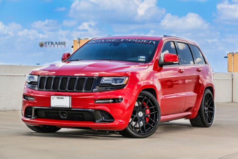 jeep grand cherokee srt getunt von strasse wheels. Black Bedroom Furniture Sets. Home Design Ideas