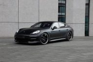 Techart Porsche Panamera Bodykit Tuning mattschwarz 1 190x127 Tuning   TECHART GrandGT Bodykit am Porsche Panamera Turbo