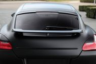 Techart Porsche Panamera Bodykit Tuning mattschwarz 6 190x127 Tuning   TECHART GrandGT Bodykit am Porsche Panamera Turbo