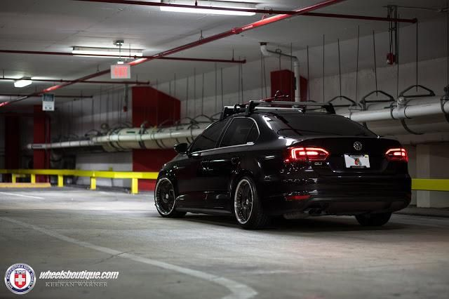 Wheels Boutique Tunt Den Vw Jetta Mit Hre 595rs Wheels
