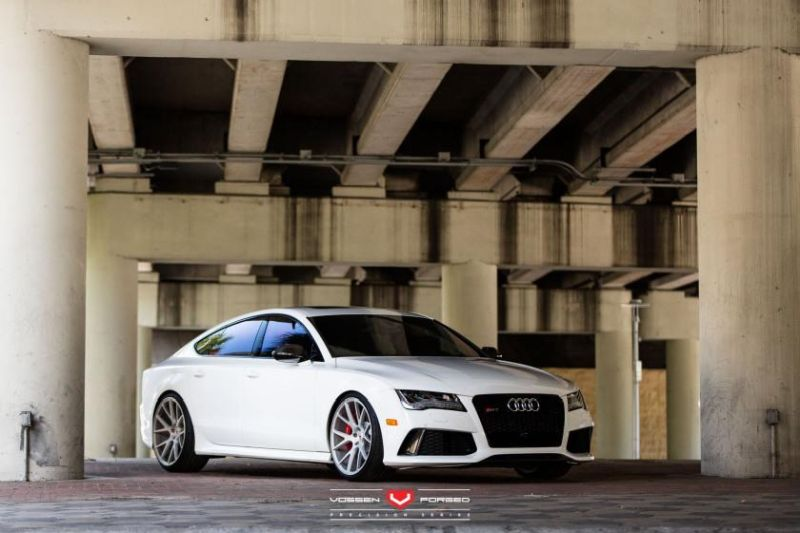 Zachs Audi RS7 Vossen Forged Precision Series VPS 306 Wheels 1 Vossen Forged VPS 306 in 21 Zoll auf dem Audi RS7