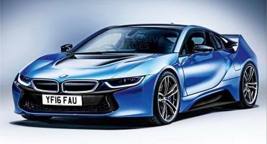bmw i8 pics 1 Potente BMW I8 Version mit 450 PS von Autoexpress.co.uk