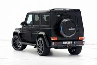 brabus 700 widestar for g63 amg is a sinister off road batmobile 8 190x127 Weiße Weste mit dem Brabus 700 auf Mercedes G63 AMG Basis