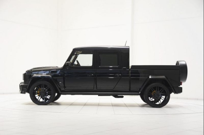 brabus g500 xxl pickup truck is very large wide 1 zu verkaufen: Brabus G500 XXL Pickup Truck in Schwarz