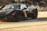 ferrari 458 italia on brixton forged wheels tuning 3 190x127 Novitec Rosso Ferrari 458 Italia mit 22 Zoll Brixton Wheels