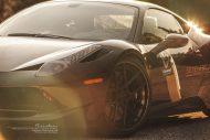 ferrari 458 italia on brixton forged wheels tuning 6 190x127 Novitec Rosso Ferrari 458 Italia mit 22 Zoll Brixton Wheels
