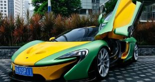 mclaren mso china yellow tuning 2 310x165 MSO McLaren P1   Kunterbunt in China gesichtet