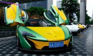 mclaren mso china yellow tuning 3 190x116 MSO McLaren P1   Kunterbunt in China gesichtet