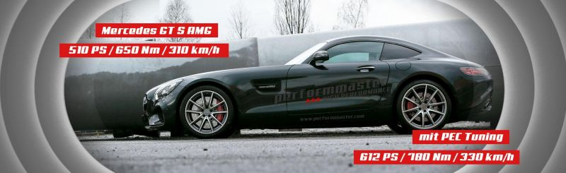 slider gts deu new 1 Mercedes AMG GT & GTs mit 612 PS von Performmaster