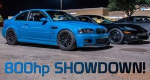 video dragerace 850 ps bmw e46 m 310x165 Video: Dragerace    850 PS BMW E46 M3 gegen 2 x Chevrolet Corvette