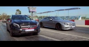 video dragerace mercedes gla 45 310x165 Video: Dragerace   Mercedes GLA 45 AMG gegen Mercedes S 65 AMG Coupe