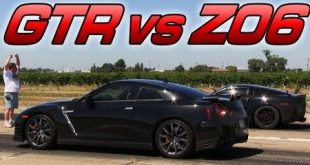 video dragerace nissan gt r gege 310x165 Video: Dragerace   Nissan GT R gegen Chevrolet Corvette C6 Z06