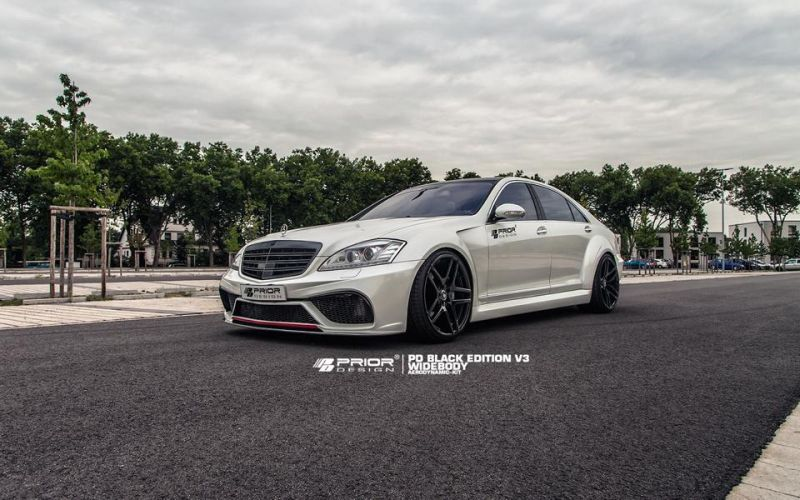 11058383 875210999181192 8094629057525862348 o Mercedes Benz S Klasse W221 mit Prior Design Bodykit