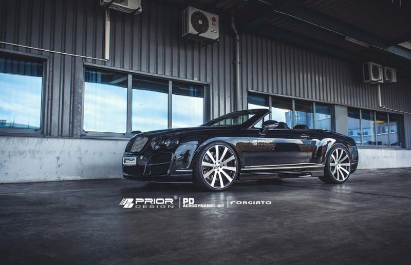 11224355 872553959446896 6430548289360630325 o Bentley Continental GTC mit Prior Bodykit und Forgiatos
