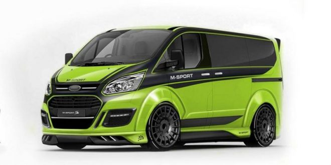 Rendering Ford Transit M Sport By Carlex Design