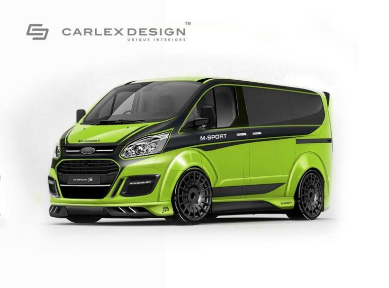 rendering ford transit m sport by carlex design. Black Bedroom Furniture Sets. Home Design Ideas