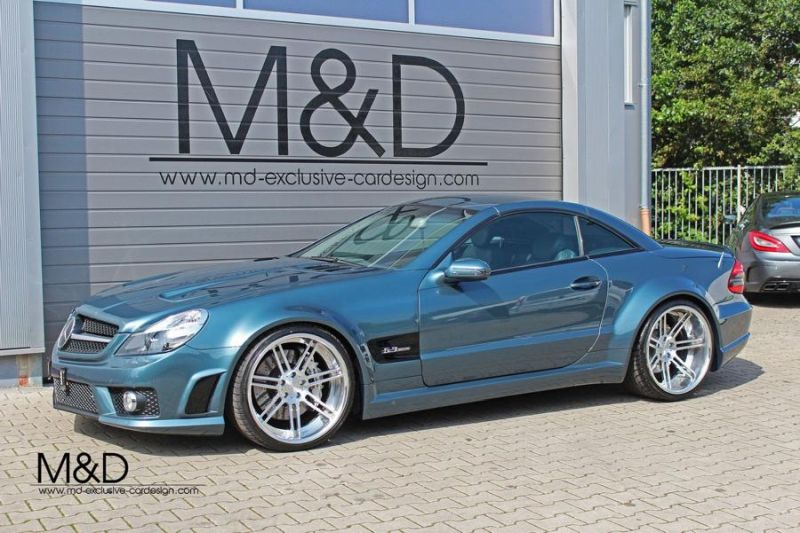11696296 947112891977292 7566813843363787814 o M&D Exclusive Cardesign Tuning Mercedes SL R230