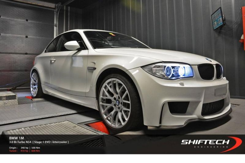11709764 1030882520255728 6553321072385533278 o BMW 1M Coupe mit 410 PS / 668 NM by Shiftech