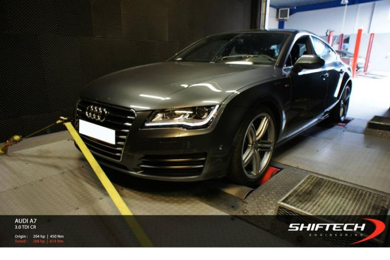 11794427 10154061692614128 1645855091680161312 o 268 PS & 614 NM im Audi A7 3.0 TDI by Shiftech Tuning