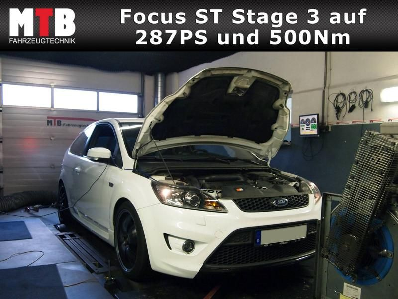 MTB Fahrzeugtechnik - 282 PS & 490 NM in the Ford Focus ST