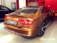 11949311 1645643855677320 1827474843058195341 n 190x143 22 Zoll Vossen Wheels & Vollfolierung am Audi A8 by Dip Star