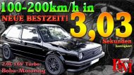 12238318 1194944800532009 6364781673416020381 o 190x107 Video: Boba VW Golf MK2 1.233PS von 100 200km/h in 3,0s