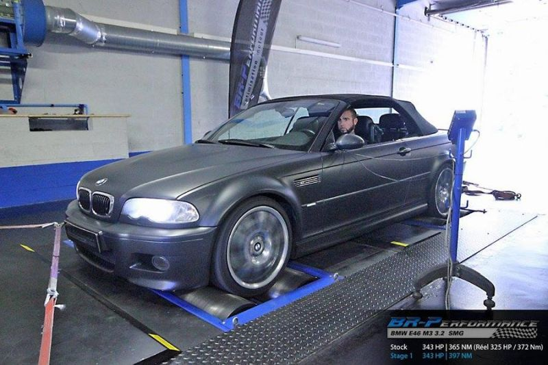 Bmw M3 E46 On Factory Specification Trimmed By Br Performance