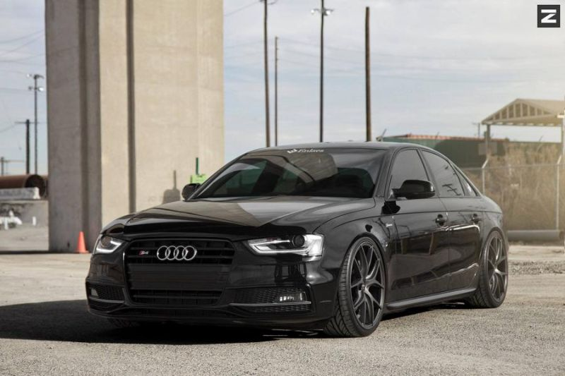 1669656 861302363964683 1411306934812791130 o Audi A4 S4 in Schwarz mit Zito Wheels ZS05 in 20 Zoll