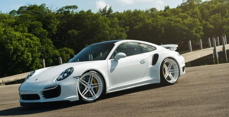 ADV 1 WHEELS PORSCHE 991 TURBO S 1 PORSCHE 991 TURBO   544 PS am Rad dank COBB