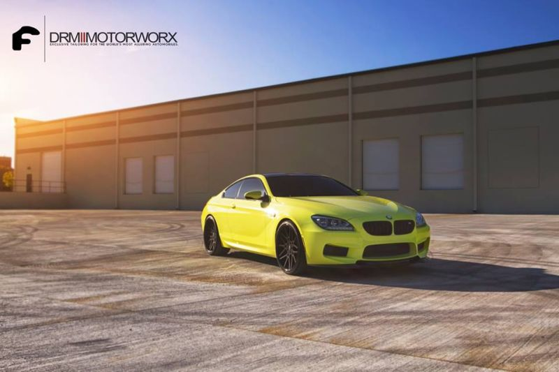Ambulance Yellow BMW M6 1 DRM Motorworx Tuning am knallgelben BMW M6 V8
