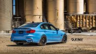 BMW M4 with HRE Classic 303 Wheels in Brushed Dark Clear 24 190x107 TAG Motorsports BMW M3 F80 mit HRE Classic 300 & 303 Alu´s
