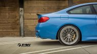 BMW M4 with HRE Classic 303 Wheels in Brushed Dark Clear 26 190x107 TAG Motorsports BMW M3 F80 mit HRE Classic 300 & 303 Alu´s